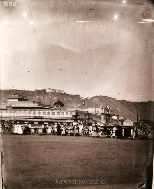 vintage-picture-chhoti-chaupar-jaipur-sawai-ram-singh-ii