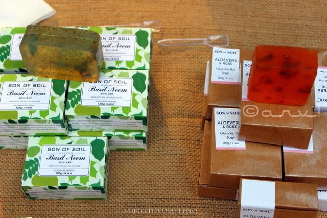 handmade-organic-glycerine-soap-farmers-market-jaipur