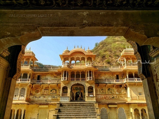 Image result for galta ji temple (monkey temple) jaipur