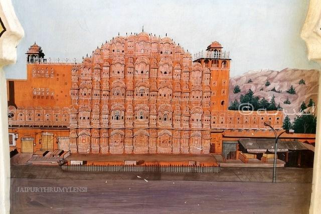 patrik-gate-hawa-mahal-painting-jaipur