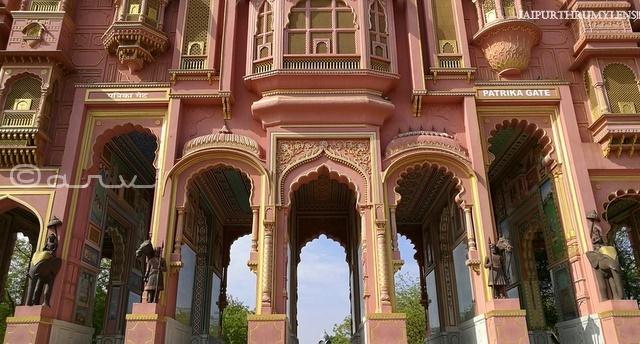 rajasthan-architecture-pdf-patrika-gate-jaipur