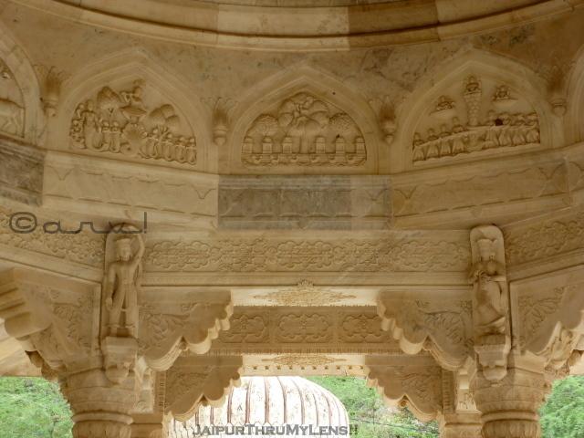 sawai-jai-singh-II-chhatri-tombs-royal-gaitore