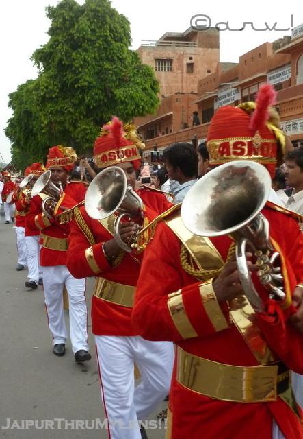 ashok-band-jaipur-teej-festival-procession