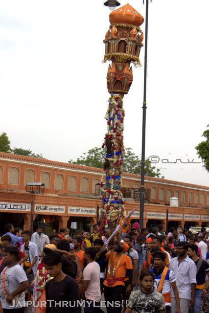 teej-festival-procession-valmiki-samaj-jaipur