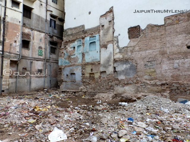 jaipur-heritage-place-old-haveli-destruction
