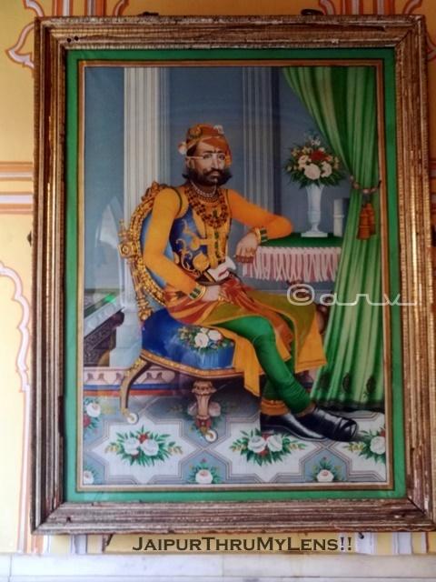 jaipur-maharaja-portrait-sawai-ram-singh-II-city-palace