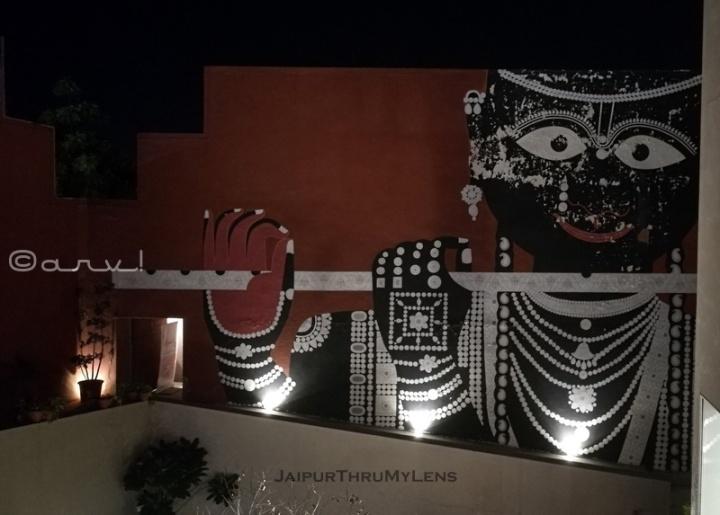 cafe-quaint-jaipur-jawahar-kala-kendra-krishna-mural