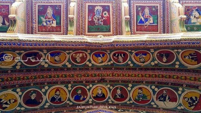 painted-ceiling-wall-shekhawati-nawalgarh-rajasthan