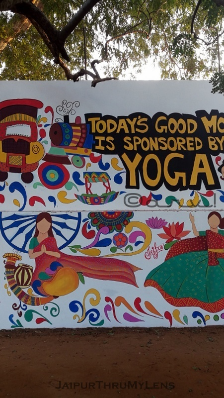 graffiti-mural-jaipur-central-park-yoga