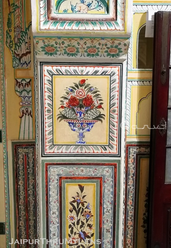 nahargarh-fort-palace-jaipur-wall-painting-panel-architecture