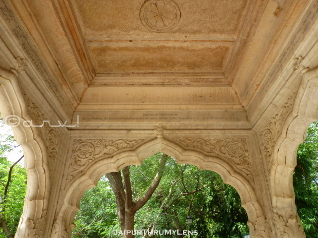 rajput-architecture-element-vintage-chhatri-white-marble-jaipur